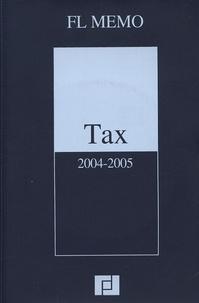 Anonyme - Tax 2004-2005 (anglais). 1 Cédérom