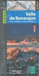 Anonyme - Valle de benasque alpina 3000-1/30.000.