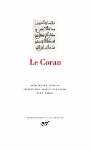 Jean Grosjean et  ANONYMES - Le Coran.