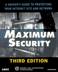 Feriasdhiver.fr Maximum Security. With CD-ROM, 3rd edition Image