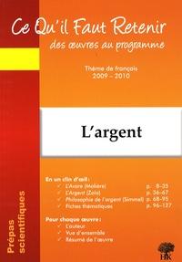 Coachingcorona.ch L'argent - Molière-L'Avare ; Zola-L'Argent ; Simmel-Philosophie de l'argent Image