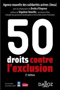 ANSA et  Droits d'Urgence - 50 droits contre l'exclusion.