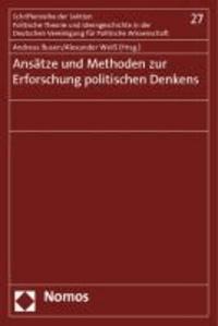 Ansätze und Methoden zur Erforschung politischen Denkens.