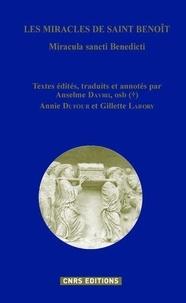 Les miracles de saint Benoît - Anselme Davril |