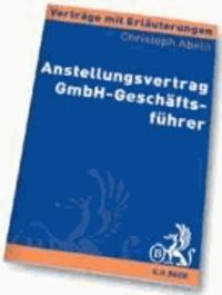 Anstellungsvertrag GmbH-Geschäftsführer.