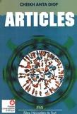 Anta Diop - Articles.