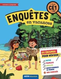 Antartik et Alice Turquois - Enquêtes en vacances CE1 au CE2.