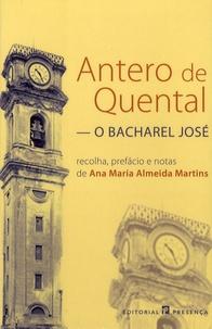 O Bacharel José - Antero de Quental | Showmesound.org