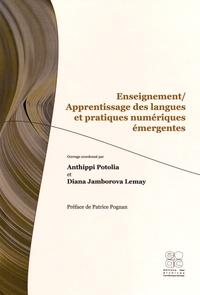 Anthippi Potolia et Diana Jamborova Lemay - Enseignement/apprentissage des langues et pratiques numériques émergentes.