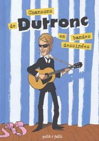 Anthony Audibert et Mathieu Gabella - Chansons de Jacques Dutronc en bandes dessinées.