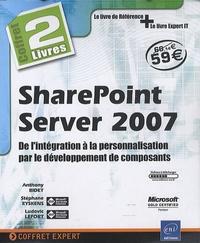 Accentsonline.fr SharePoint Server 2007 - De l'intégration à la personalisation par le développement de composants, Pack en 2 volumes Image
