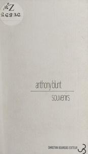 Anthony Blunt - Souvenirs.