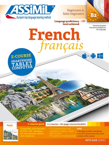 French. E-course pack : 1 e-course + 60-page course Booklet