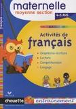 Anthony Giroud - Activités de français Maternelle Moyenne Section - 4/5 Ans.