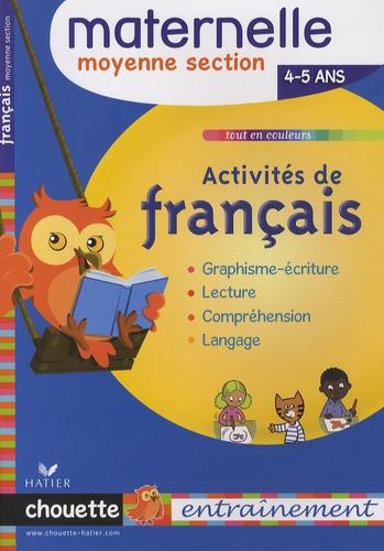 Activites De Francais Maternelle Moyenne Section 4 5 Ans