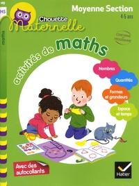 Anthony Giroud et Isabelle Gunzburger-Cécillon - Activités de maths Maternelle Moyenne Section 4-5 ans.