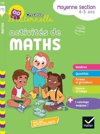 Anthony Giroud et Isabelle Gunzburger-Cécillon - Activités de maths Maternelle Moyenne Section.