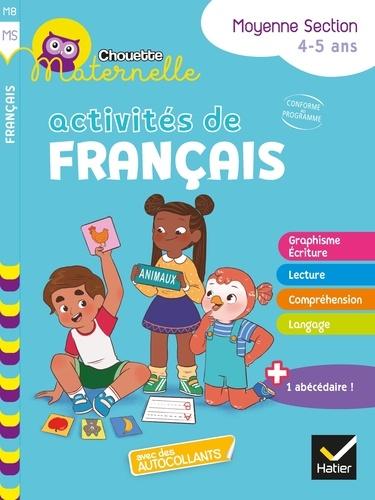 Chouette maternelle Activités de français Moyenne Section