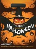 Anthony Marras - Ma pochette Halloween - Contient : des livres, du coloriage, des masques, du maquillage, des tattoos.