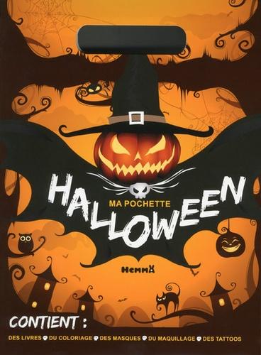 Ma Pochette Halloween Contient Des Livres Du Coloriage Des Masques Du Maquillage Des Tattoos