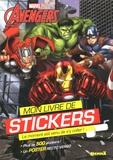 Anthony Marras - Mon livre de stickers Avengers - Avec poster géant recto-verso.