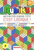 Anthony Marras - Rubik's C'est logique ! - Idéal pour se dégourdir les neurones ! Pour les enfants 8+.