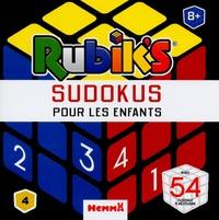 Anthony Marras - Rubik's sudokus pour les enfants - Avec 54 sukokus à résoudre.