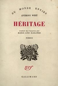 Anthony West - .