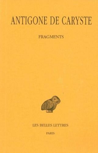 Antigone de Caryste - Fragments.