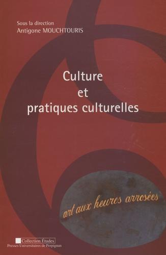 Antigone Mouchtouris et  Collectif - Culture et pratiques culturelles - Actes du colloque 12 mai 2006, Université de Perpignan Via-Domitia.