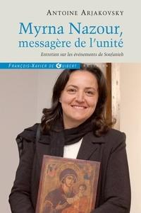 Deedr.fr Myrna Nazour, messagère de l'unité des chrétiens - Entretien sur le événements de Soufanieh, Damas Image