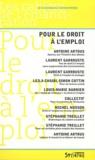 Antoine Artous - Pour le droit à l'emploi.