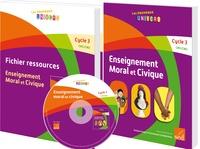 Antoine Auger et Emmanuel Guimberteau - Enseignement moral et civique Cycle 3 CM1/CM2 - Manuel + Fichier ressources.
