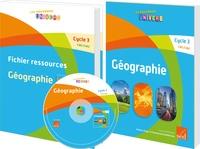 Antoine Auger et Emmanuel Guimberteau - Géographie Cycle 3 CM1/CM2 - Manuel + Fichier ressources.