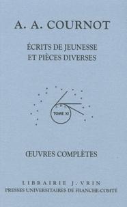 Oeuvres complètes - Tome 11 Volume 1, Ecrits de jeunesse et pièces diverses.pdf