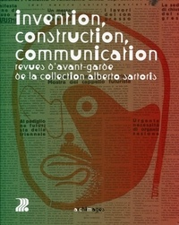 Antoine Baudin - Invention, construction, communication - Revues d'avant-garde de la collection Alberto Sartoris.