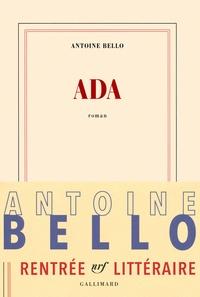 Téléchargements mp3 ebook gratuits Ada (Litterature Francaise) par Antoine Bello
