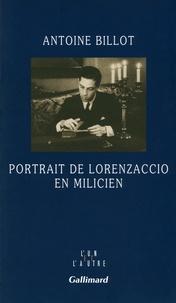 Antoine Billot - Portrait de Lorenzaccio en milicien.