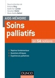 Antoine Bioy et Axelle Van Lander - Soins palliatifs.