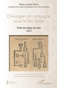 Histoiresdenlire.be Chirurgien de campagne sous le Roi-Soleil - Traité des playes de teste 1674 Image