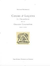 Antoine Bourdelle - Cours et leçons à la Grande Chaumière Tome 1.