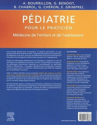 Pédiatrie. Médecine de l'enfant et de l'adolescent 7e édition