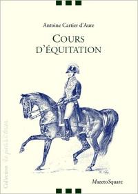 Antoine Cartier D'aure - Cours d'équitation.
