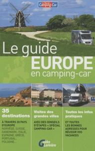 Antoine Chapenoire - Le guide Europe en camping-car.