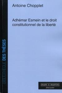 Feriasdhiver.fr Adhemar Esmein et le droit constitutionnel de la liberté Image