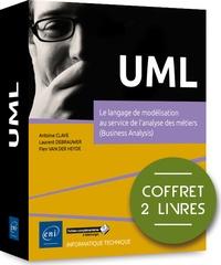 UML- Coffret de 2 livres - Le langage de modélisation au service de l'analyse des métiers (Business Analysis) - Antoine Clave |