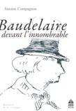 Antoine Compagnon - Baudelaire devant l'innombrable.