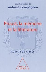 Histoiresdenlire.be Proust, la mémoire et la littérature Image