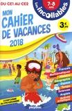 Antoine Corbineau et Laurent Kling - Mon cahier de vacances du CE1 au CE2 7-8 ans.