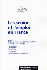 Antoine d' Autume - Les seniors et l'emploi en France.